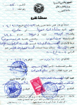 Syrian Exit visa for Shadee Mhanna