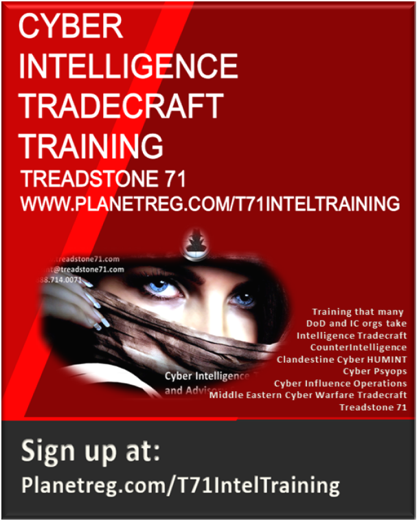 Treadstone 71 Intelligence Training